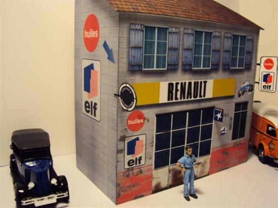 Garage alpine renault - Esso porte de la chapelle ...